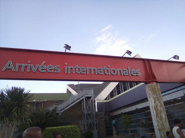 Accueil groupe aéroport Ivato